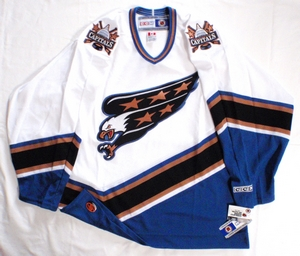 Washington Capitals semi-pro hockey jersey