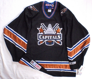 Washington Capitalssemi-pro hockey jersey