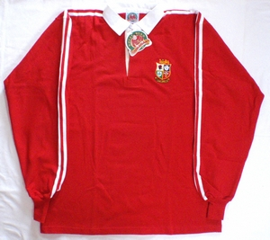 British Lions rugby jersey
