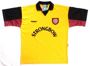 Hearts third soccer jersey