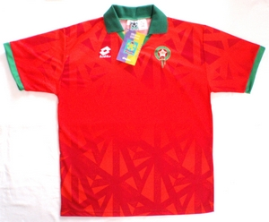 Morocco home soccer jersey