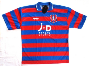 Oldham home soccer jersey