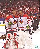 Brodeur & Luongo Gold Medal photo