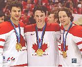 TOEWS,  SEABROOK & KEITH  with Gold Medals