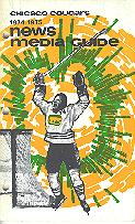 74-75 Chicago Cougars Media Guide