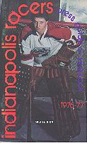 76-77 Indianapolis Racers Media Guide