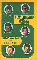 76-77 New England Whalers Media Guide