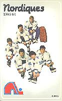 1983-84 Quebec Nordiques Media Guide