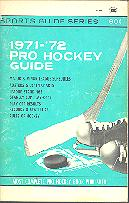 Pub  3769 - Sports Guide Series <br />1971-72 Pro Hockey Guide