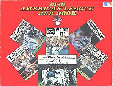 Pub 3856 - 1986 Official American League Red Book