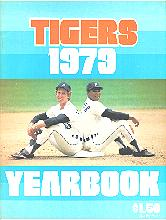Pub 3863 - 1979 Detroit Tigers Yearbook