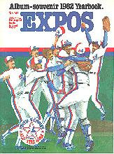 Pub 3879 - 1982 Montreal Expos Yearbook