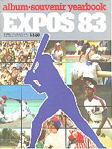 Pub 3880 - 1983 Montreal Expos Yearbook