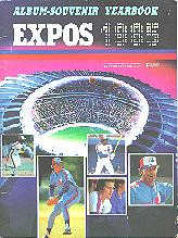 Pub 3881 - 1985 Montreal Expos Yearbook