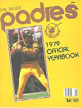 Pub 3885 - 1979 San Diego Padres Official Yearbook