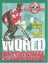 Dec. 26, 2001 - Jan. 1, 2002 - Mac`s World Invitational AAA Midget Hockey Championship program