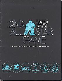 Jan. 18, 1983 - 2nd All Star Game Central Hockey League All Stars vs Salt Lake Golden Eagles CHL All Star Program