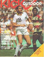 May 12, 1982 Edmonton Drillers soccer program