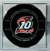 10th Anniversary Columbus Blue Jackets official game puck