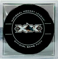 20th Anniversary San Jose Sharks official game puck