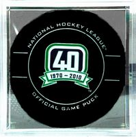 40th Anniversary Vancouver Canucks official game puck
