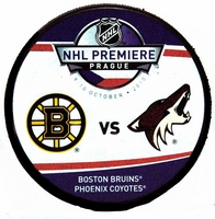 2010 NHL Premiere Prague Dueling puck