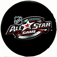 2011 NHL All Star Game souvenir puck