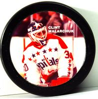 Clint Malarchuk Star Puck