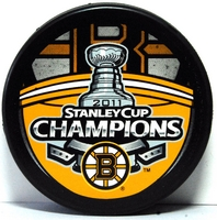 Boston Bruins 2011 Stanley Cup Champions puck