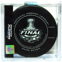 2011 Stanley Cup Finals Game Seven puck