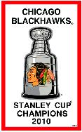 2010 Stanley Cup Champions banner
