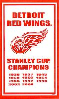 2008 Detroit Red Wings Stanley Cup Banner