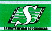 Saskatchewan Roughriders 5x3 horizontal flag